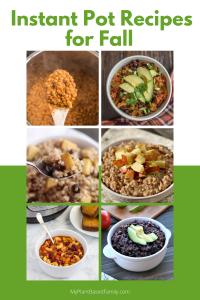 Instant Pot Recipes for Fall