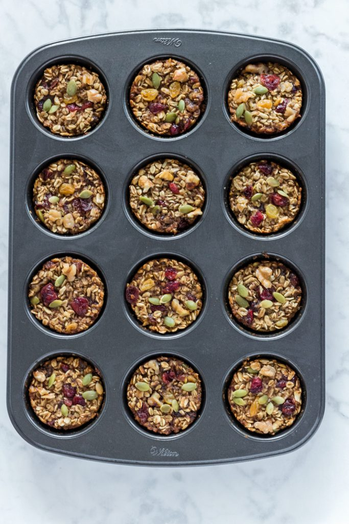 Vegan Oatmeal Cups