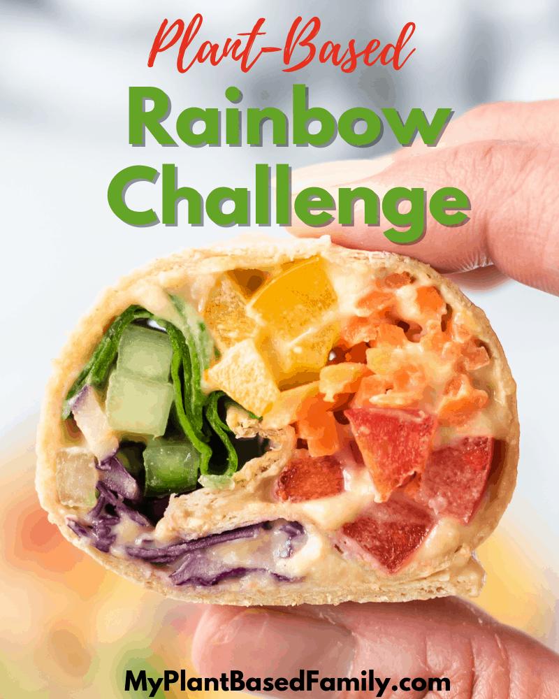 Plant-Based Rainbow Challenge